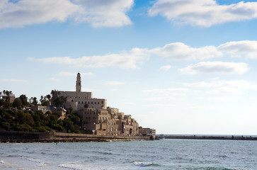 view of the old city of Jaffa
