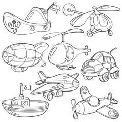 Cutie Transportation Toys