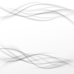 Halftone swoosh smooth gray certificate modern