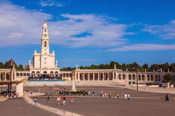 Catholic colonnade in Fatima