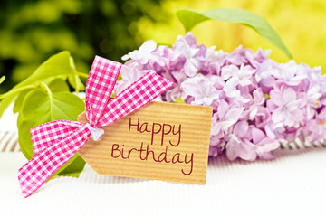 greeting card background for your text - happy birthday