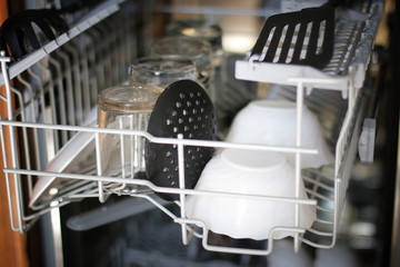 Dishwasher concept Housewives