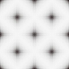 Seamless pattern. Vector halftone dots