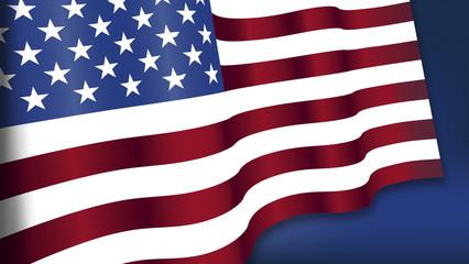 Feiertag, Unabhängigkeitstag, vierter Juli, amerikanische Fahne