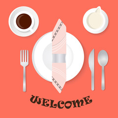 Welcome for breakfast