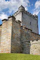 Pulverturm und untere Batterie, Burg Bad Bentheim