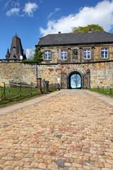 Eingang zur Burg Bad Bentheim