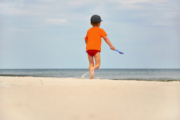 Dziecko i morze