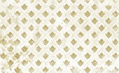 Royales Muster, gold