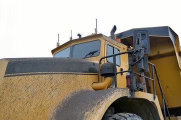 90 ton truck for transporting coal at an open cast  mine