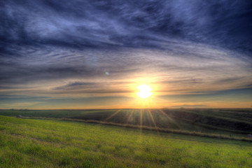 The Painting HDR Landscape Photo
