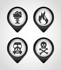 caution icons