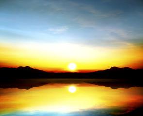sky beautiful sunset