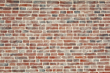 Texture of a brick wall, background