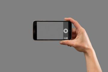 Smartphone Foto Freigestellt