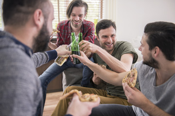 Let's celebrate our meeting without girls