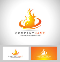 Fire Flame Logo