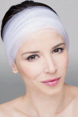 Beauty shot of a woman, for skincare