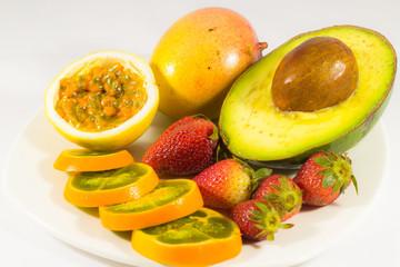 Fotografía de frutas para uso publicitario de alimentos