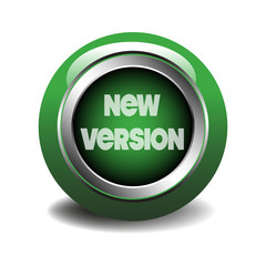 New version glossy web button
