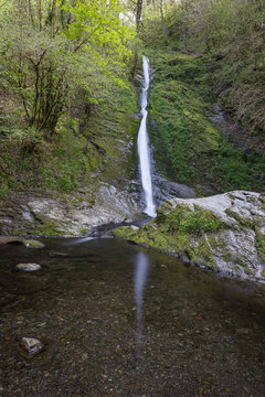 White Lady Waterfall in Devon