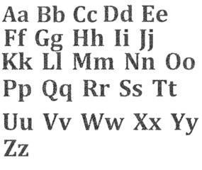 Vector Alphabet Set Image 11