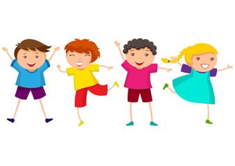 Fototapeta Happy kids