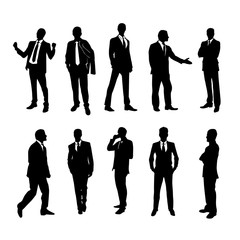 Business People Silhouette Pack