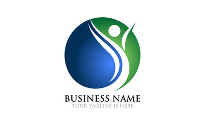 Abstract People Business Logo