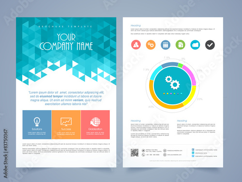 pamphlet design templates free download