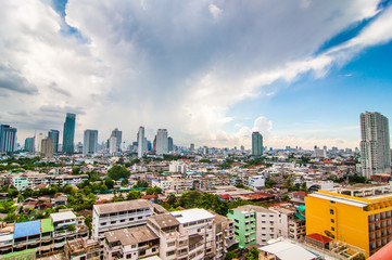Day view city scape of Bangkok