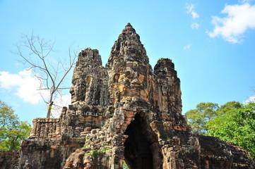 Angkor Temple Gate of Cambodia