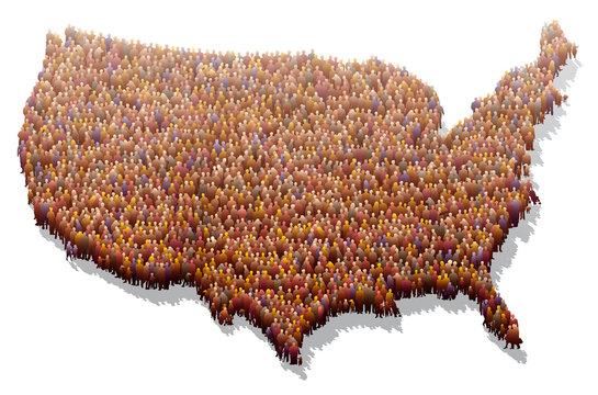 États-Unis - Population