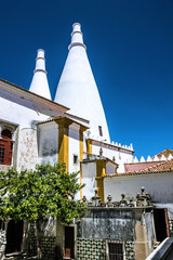 Fotomurales - National palace, Sintra, Portugal
