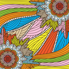 Zentangle background