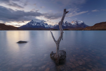 National park Torres del Paine, Patagonia, Chile