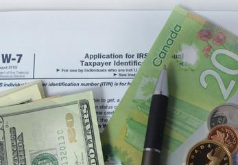 USA: Double taxation. Canada