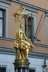 Москва, Старый Арбат. Памятник принцессе Турандот