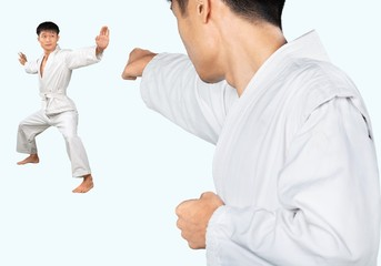 Martial Arts, Karate, Judo.