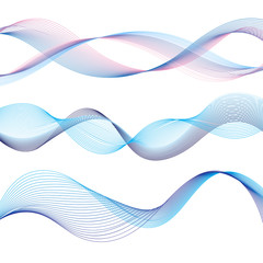 different waves graphic
