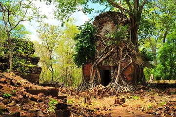 Angkor Koh Ker Temple of Cambodia