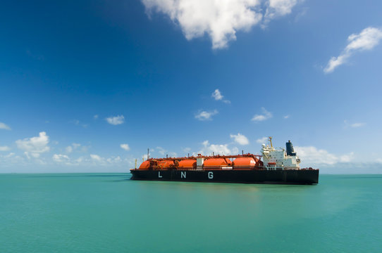 Oil and gas industry liquefied natural gas tanker LNG