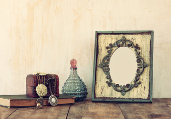 image of victorian vintage antique classical frame, jewelry