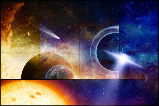 Space scientific background