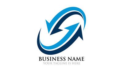 Modern Interaction Business Logo