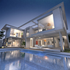 Dream designer villa