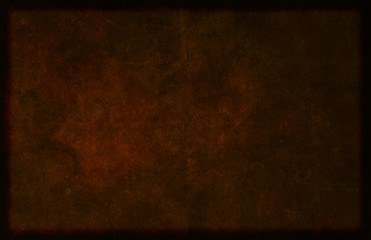 Dark Brown Borderd Textured Material Background