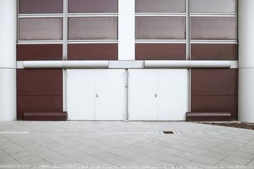 Eingang Türen Fassade © Matthias Buehner