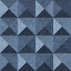 Abstract paneling pattern - seamless pattern - pyramidal pattern