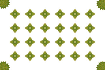 Idea from leaf (Pattern concept)